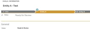 CRM Process bar